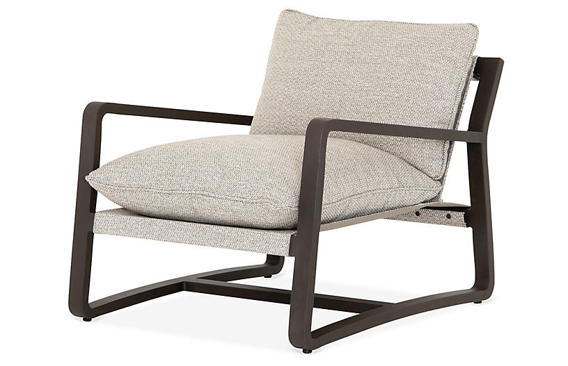 Weston Outdoor Chair, Bronze