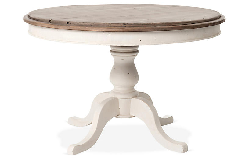 Tabor Round Dining Table, Natural Ash
