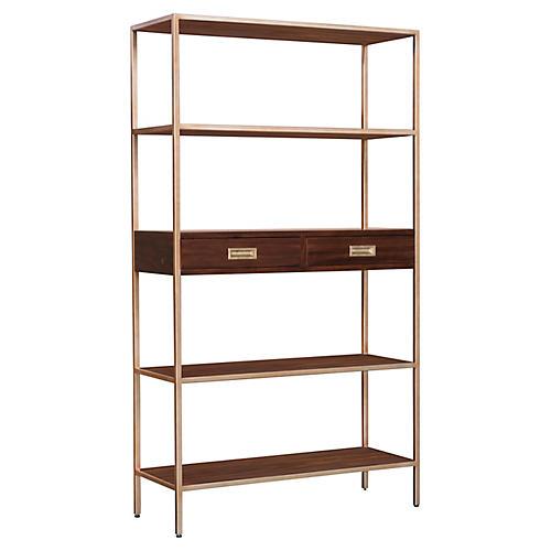 Jude Bookcase, Carob