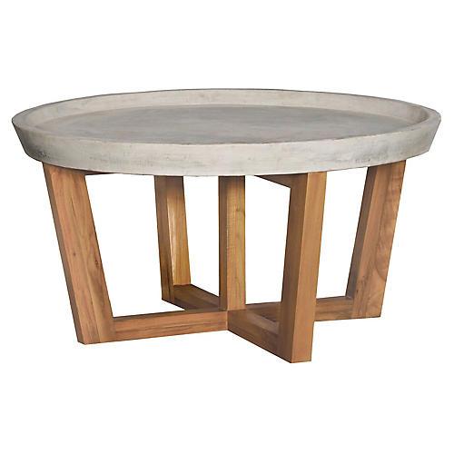 Rosaland Teak Coffee Table, Natural