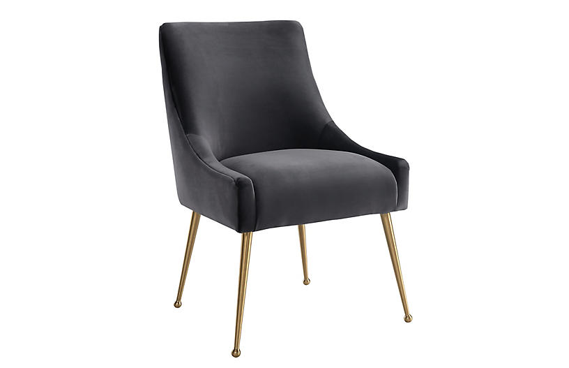 Georgia Side Chair, Gray