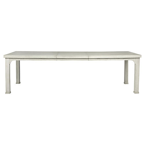 Traverse Extension Dining Table, White