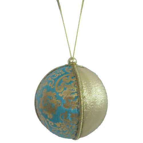 Ornate Ornament, Teal