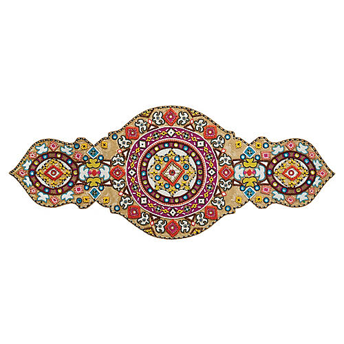 Luxor Table Runner, Red/Multi