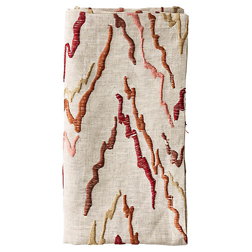 S/4 Mesa Dinner Napkins, Natural/Brown