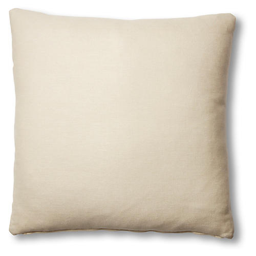 Hazel Pillow, Khaki Linen