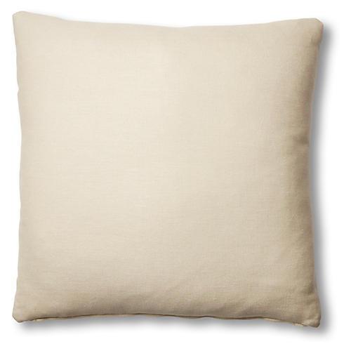 Hazel Pillow, Khaki Linen