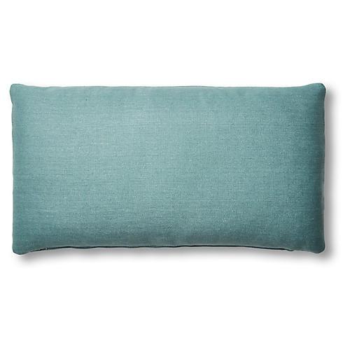 Ada Lumbar Pillow, Surf Linen
