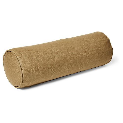 Anne Bolster Pillow, English Green Linen