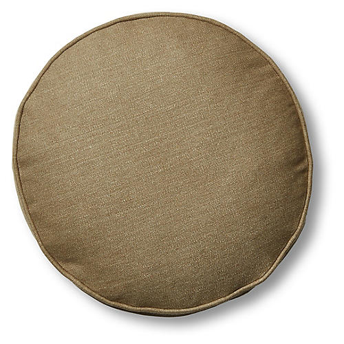Claire 16x16 Disc Pillow, English Green Linen