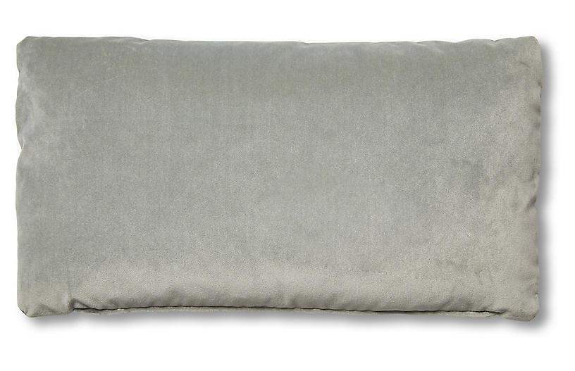 Ada Long Lumbar Pillow Mineral Velvet