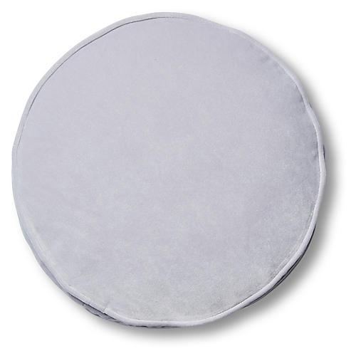 Claire 16x16 Disc Pillow, Violet Velvet