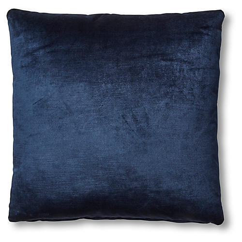 Hazel Pillow, Midnight Velvet