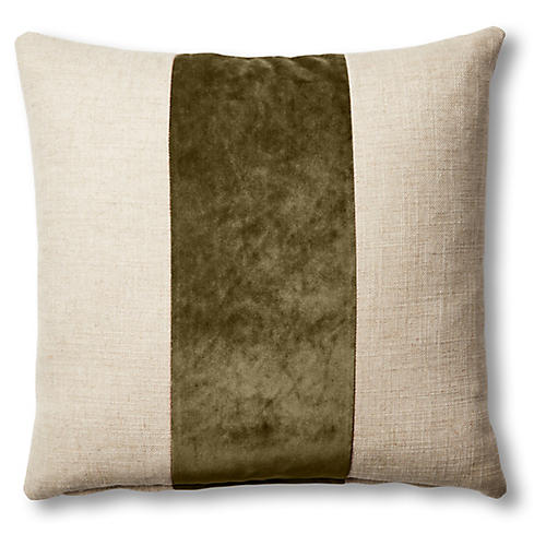 Blakely 19x19 Pillow, Natural/Balsam