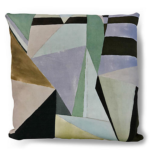 Tuombly 20x20 Pillow, Lavender/Multi