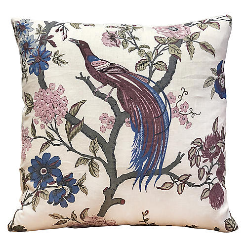 Claudine 20x20 Pillow, Plum