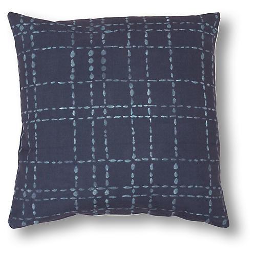 Myles 20x20 Pillow, Blue