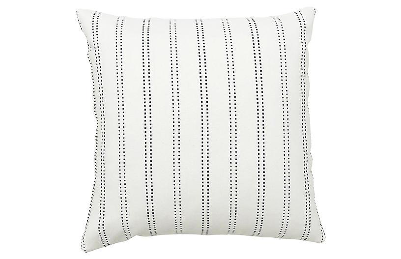 Mia 20x20 Pillow, Blue