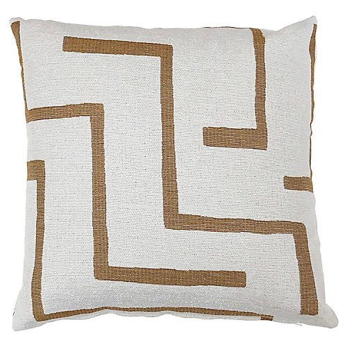 Olivia 20x20 Pillow, Brown