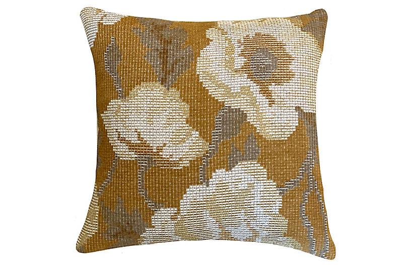 Waverly 20x20 Pillow, Ochre