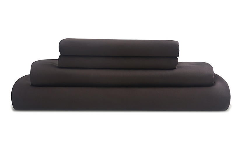 Eucalyptus Sheet Set, Slate