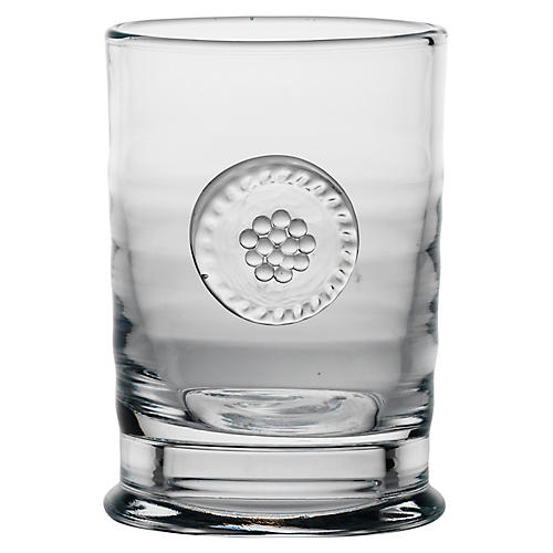 Berry & Thread Votive, Clear