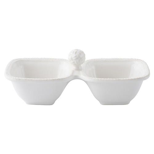 Le Panier Serving Dishes, White