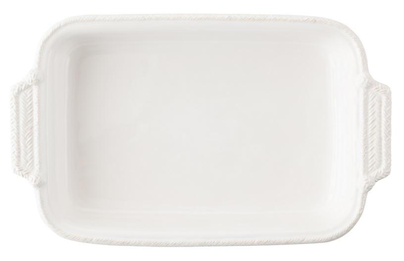 Le Panier Rectangular Baker, White