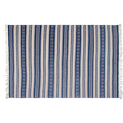 Reid Outdoor Rug, Blue