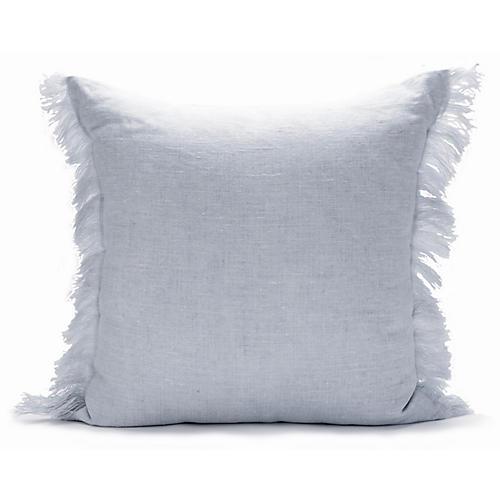 Solid Fringe 22x22 Pillow, Dusk