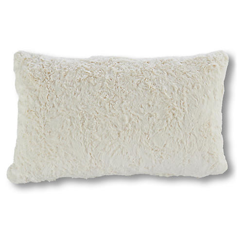 Addax 9x19 Lumbar Pillow, Cream