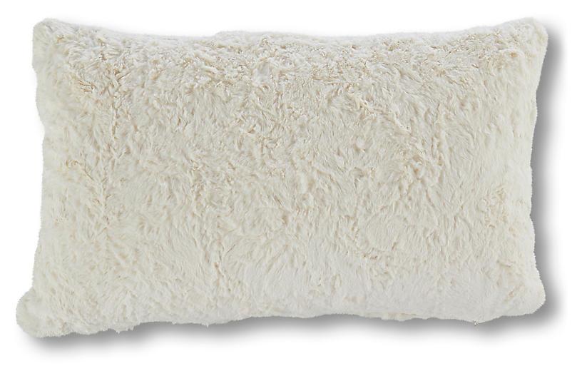 Addax 9x19 Lumbar Pillow, Cream