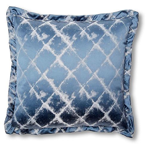 Lisbeth 20x20 Pillow, Indigo