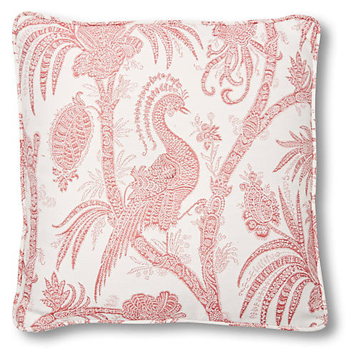 Lynn 20x20 Box Pillow, Cassis
