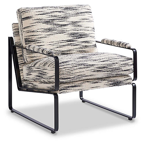 Harrison Chair, Salt/Pepper
