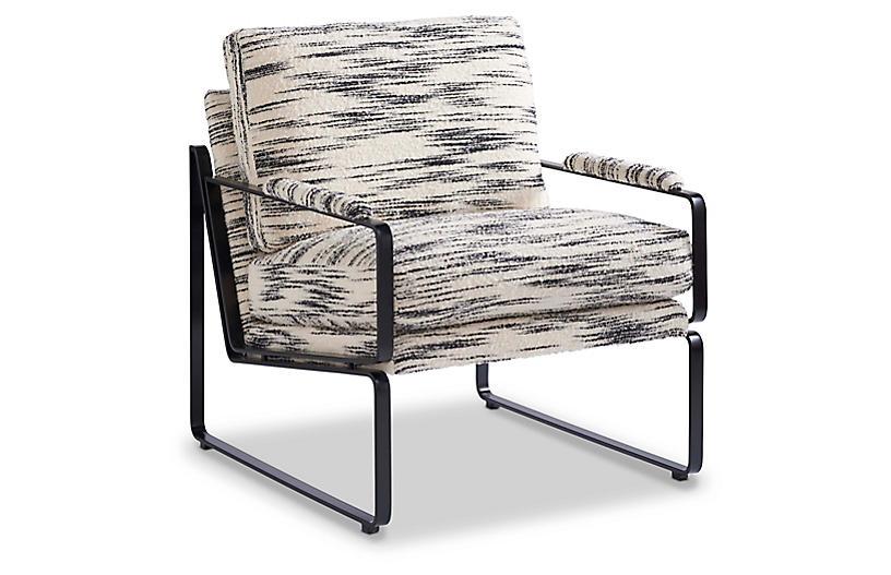 Harrison Chair, Salt/Pepper