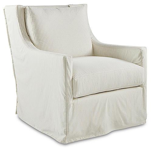 Mason Accent Chair, Spa