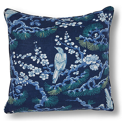 Savoy Overlook 20x20 Pillow, Indigo