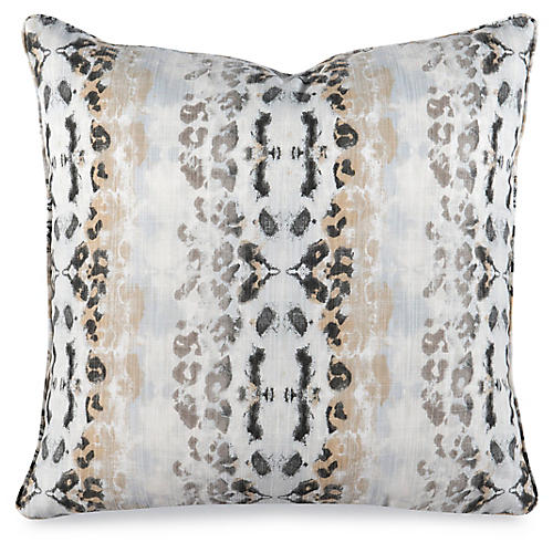 Mora 20x20 Pillow, Mineral Blue