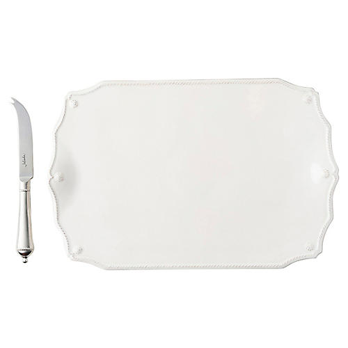 Berry & Thread Serving Set, Whitewash