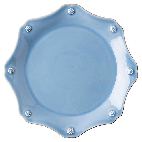Berry & Thread Salad Plate, Chambray