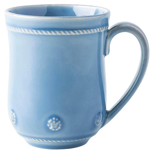 Berry & Thread Mug, Chambray