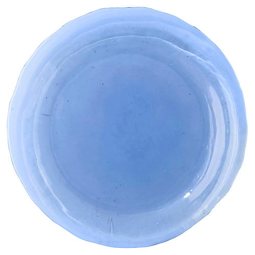 Carine Salad Plate, Blue