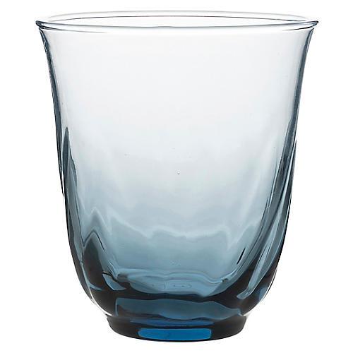 Vienne Tumbler, Blue/Clear