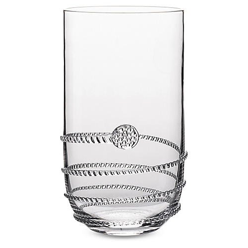 S/4 Heritage Highball Glasses, Clear