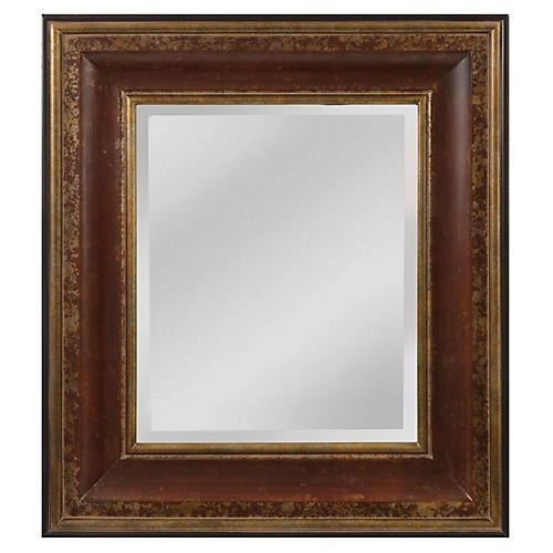 Lumley Wall Mirror, Brown/Gold