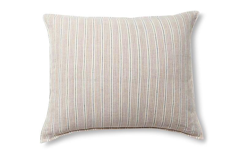 Newport 28x36 Pillow, Natural/Midnight