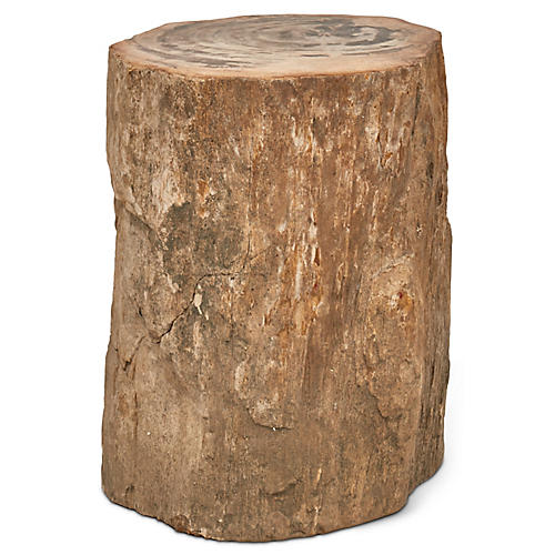 Stump Stool, Light Natural