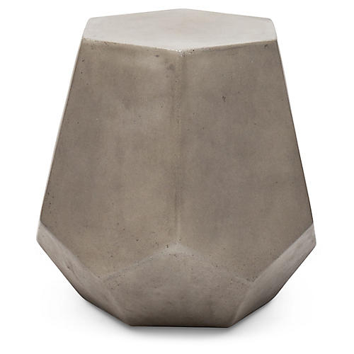 Cristobal Stool, Dark Gray