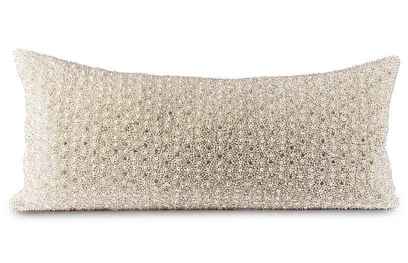 Puri 14x30 Lumbar Pillow, Gold